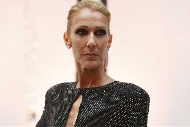 Céline Dion en janvier 2019, à Paris.