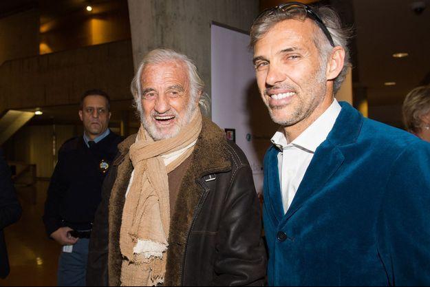 Jean-Paul et Paul Belmondo ici en novembre 2017 à Paris.