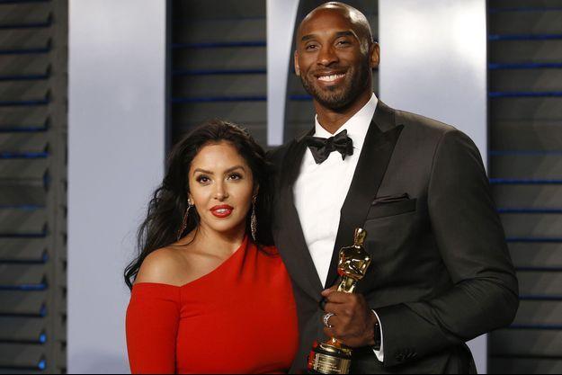 Vanessa et Kobe Bryant en 2018.