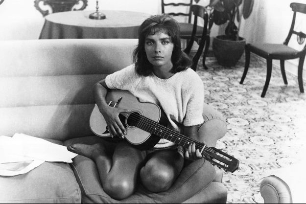 Marie Laforêt en 1960.