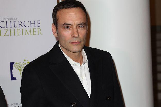 Anthony Delon lors du photocall du 12ème Gala 2017 de l'Association pour la Recherche sur Alzheimer, à Paris en janvier dernier.