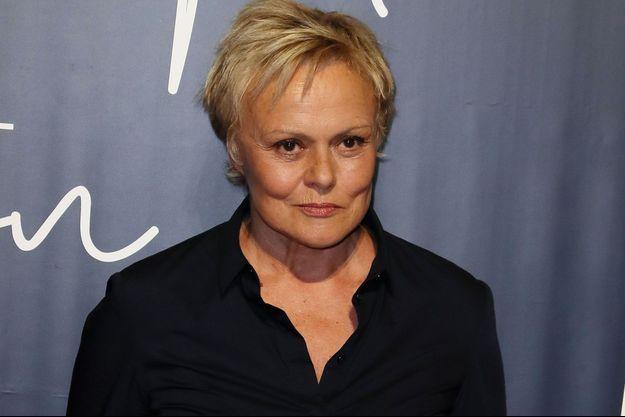 Muriel Robin, le 13 septembre, à Paris.