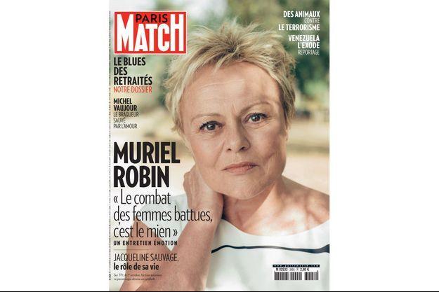 La couverture du numéro 3620 de Paris Match