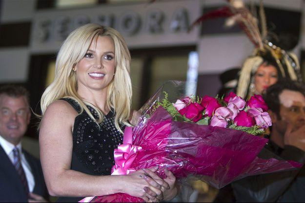 Britney Spears, début décembre, pour annoncer son installation à Las Vegas.