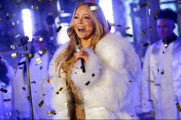 Mariah Carey en 2018.