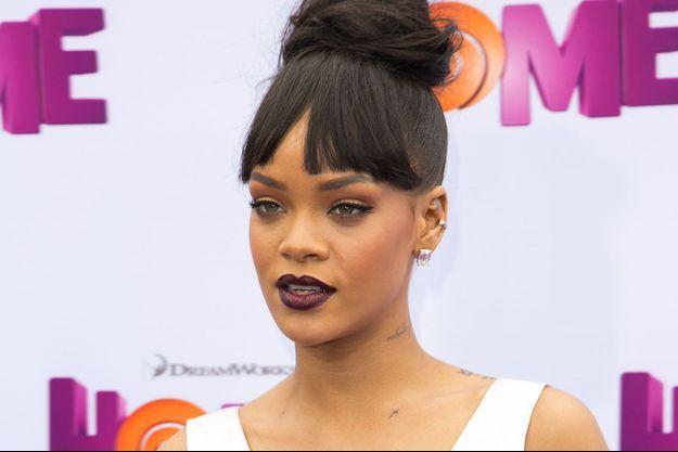 Rihanna à Los Angeles le 22 mars dernier