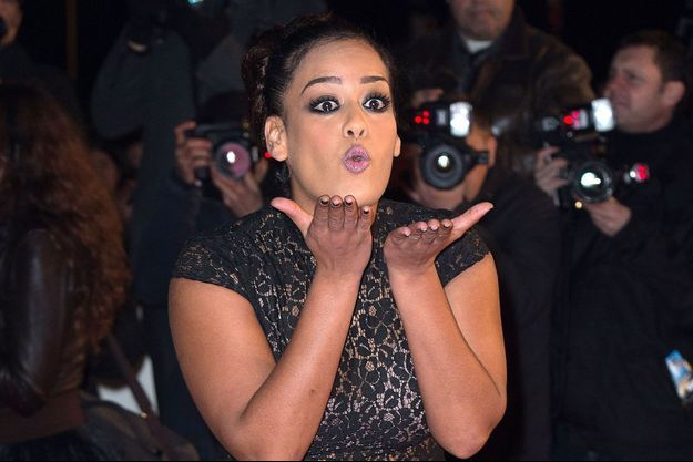 Amel Bent aux NRJ Music Awards 2013.
