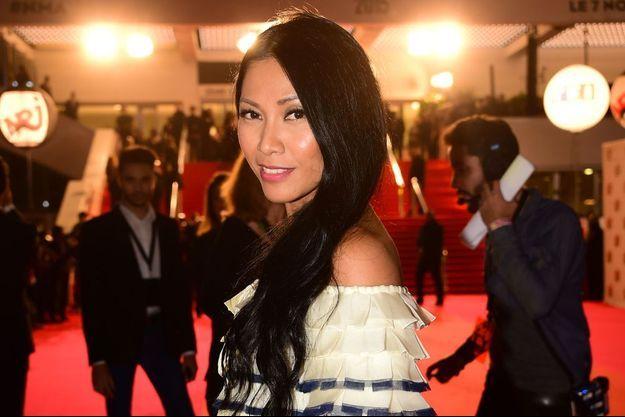 Anggun à Cannes lors de la cérémonie des NRJ Music Awards 2015.