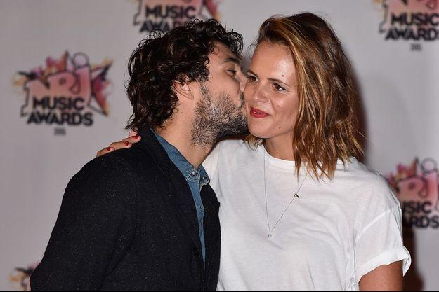 Jérémy et Laure au NRJ Music Awards.