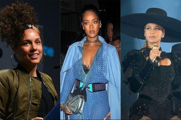 Beyoncé, Rihanna et Alicia Keys en marche contre le racisme