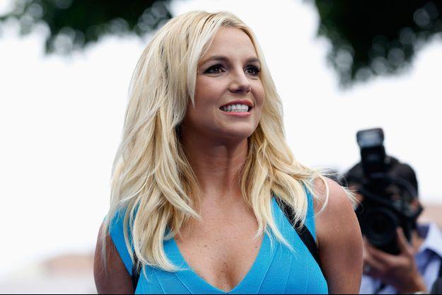 Britney Spears lors de l'avant-première des «Smurfs 2» à Los Angeles