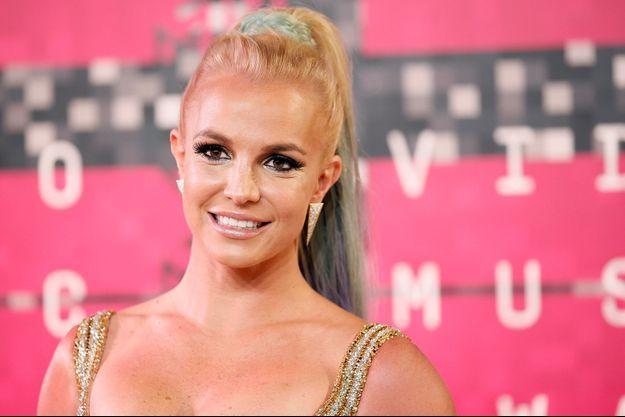 Britney Spears aux MTV VMA 2015 à Los Angeles le 31 août dernier.