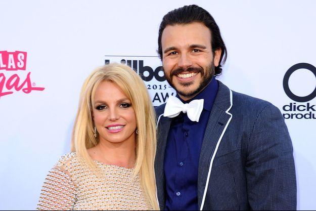 Britney Spears et Charlie Ebersol à Las Vegas le 17 mai dernier lors des Billboard Music Awards.
