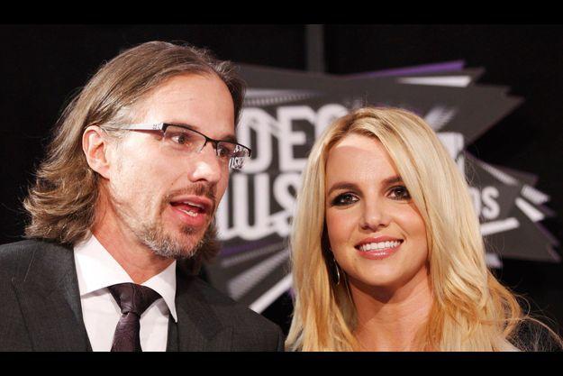 Jason Trawick et Britney Spears, lors des MTV Awards en 2011.