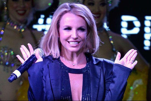 Britney Spears lors de sa dernière apparition publique, le 5 novembre dernier