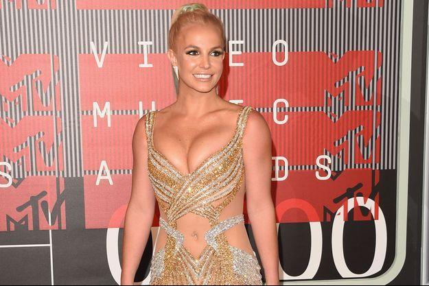 Britney Spears à Los Angeles en août 2015.