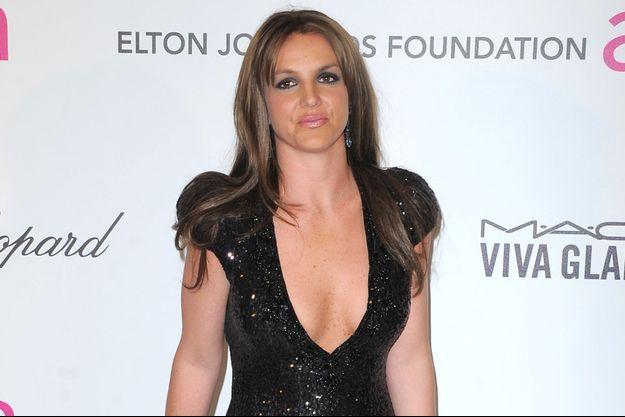 Britney Spears en février 2013