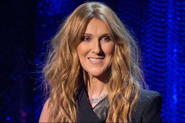Céline Dion à Las Vegas, le 2 mai 2015.