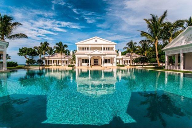 La propriété de Jupiter Island, en Floride.