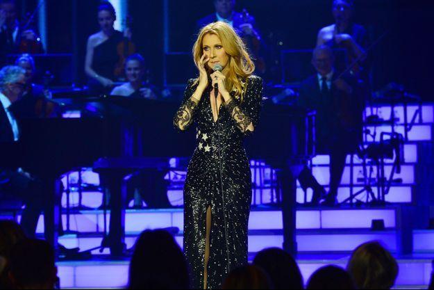 Céline Dion était de retour sur scène