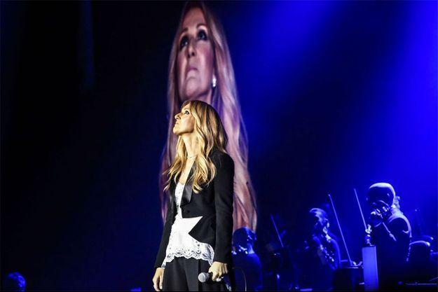 Céline Dion en concert à Anvers, le 20 juin 2016.