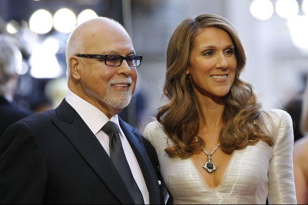Céline et René, en février 2011.