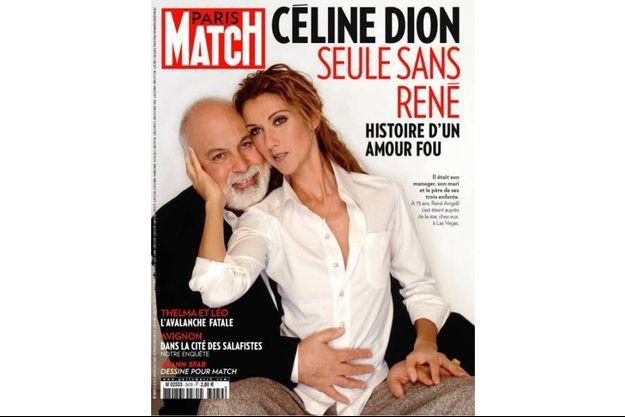 La couverture du numéro 3479 de Paris Match
