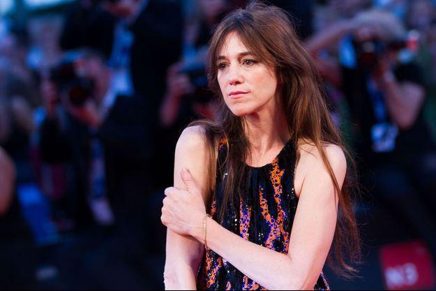 Charlotte Gainsbourg au Festival du Film de Venise en août dernier