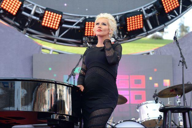 Le 10 mai dernier, Christina Aguilera était sur la scène du Wango Tango Show, à Los Angeles.