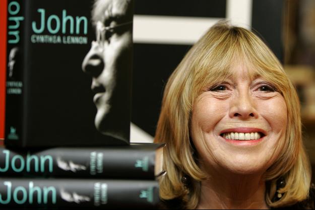 Cynthia Lennon en septembre 2005.