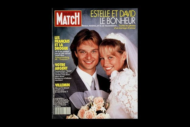 David et Estelle Hallyday