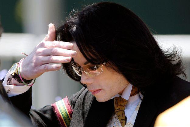 Michael Jackson à Santa Barbara en juin 2005.