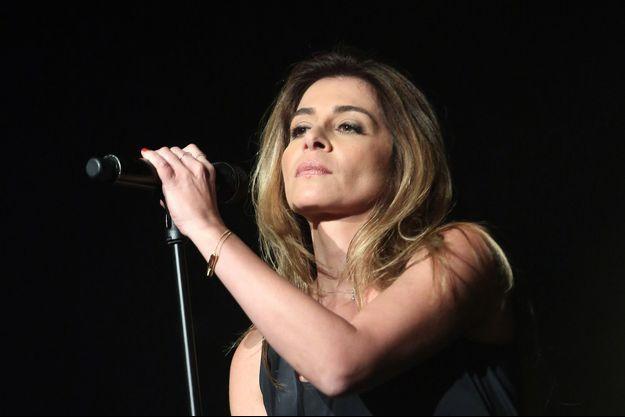 Julie Zenatti le 13 mars dernier en concert à Paris