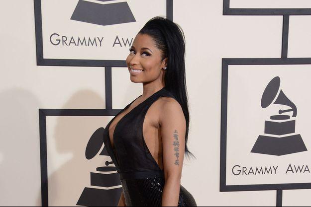 Nicki Minaj aux Grammy Awards du 8 février dernier à Los Angeles