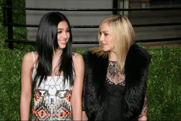 Madonna, loin d'être une maman poule avec sa fille Lourdes.