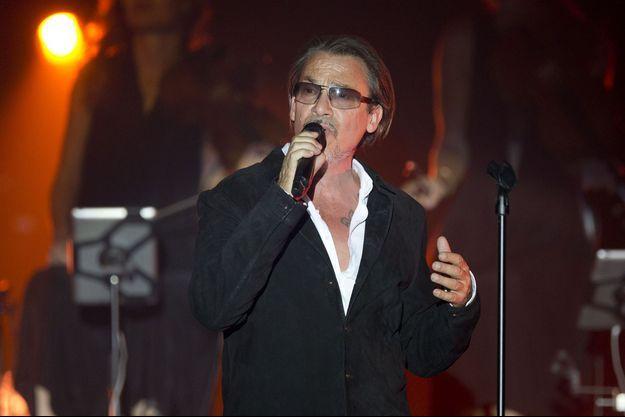 Florent Pagny en concert en août 2015.