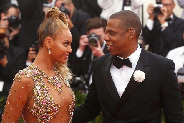 Beyoncé et son mari Jay-Z au Gala du Metropolitan Museum of Art le 4 mai dernier.