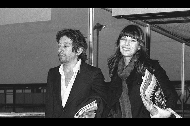 Jane Birkin et Serge Gainsbourg en 1971.