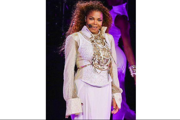 Janet Jackson, en concert à Vancouver, le 31 août 2015.