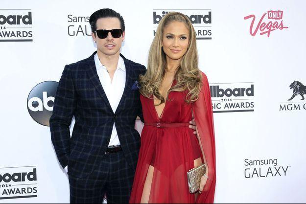 JLo et Casper Smart aux Billboard Music Awards en mai dernier à Las Vegas.