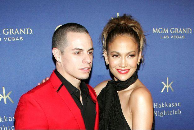 Jennifer Lopez et Casper Smart à Las Vegas en avril 2013