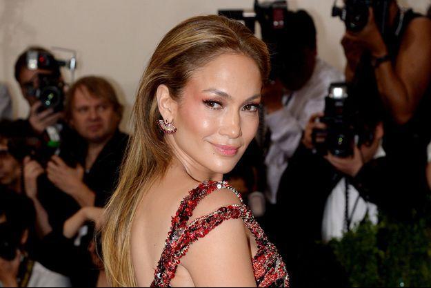 Jennifer Lopez au Met Gala 2015 du 4 mai dernier à New-York