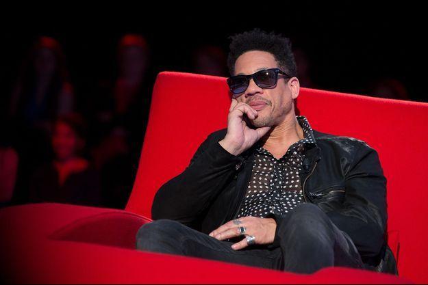 JoeyStarr sur le Divan de Marc-Olivier Fogiel, le 31 mai 2016.