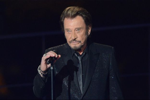 Johnny Hallyday à Paris en novembre 2014