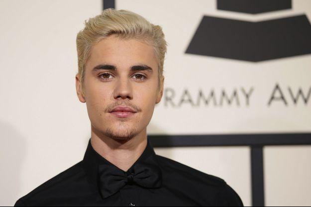 Justin Bieber à Los Angeles le 16 février 2016