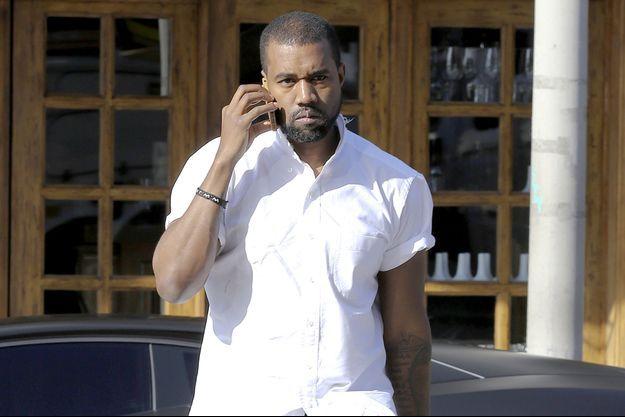 Kanye West à Hollywood, le 11 janvier 2014.