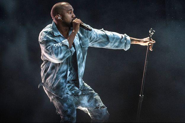 Kanye West au Wireless Festival à Birmingham, le 7 juillet 2014.