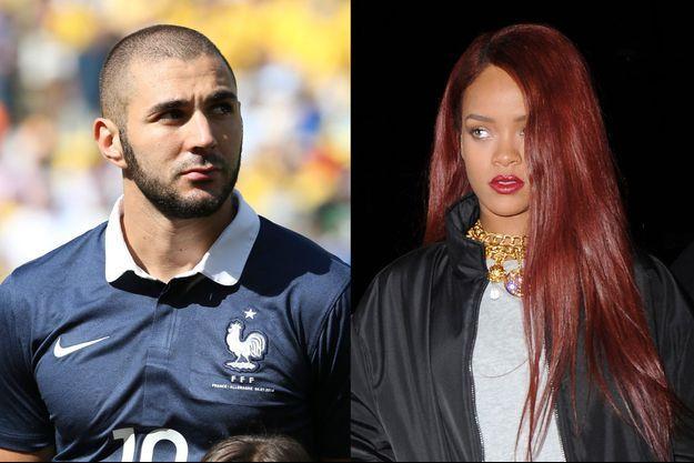 Karim Benzema et Rihanna, un duo qui fait tourner les têtes.