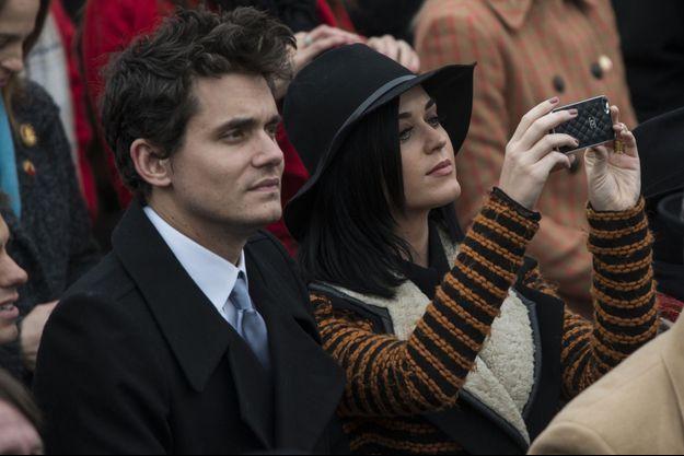 En janvier 2013, John Mayer et Katy Perry avaient tous deux assisté à la cérémonie d'investiture de Barack Obama, à Washington.