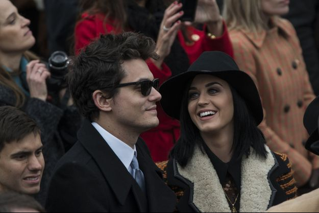 Katy Perry et John Mayer le 21 janvier 2014 à Washington